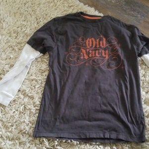 Old navy boys long sleeve shirt xl